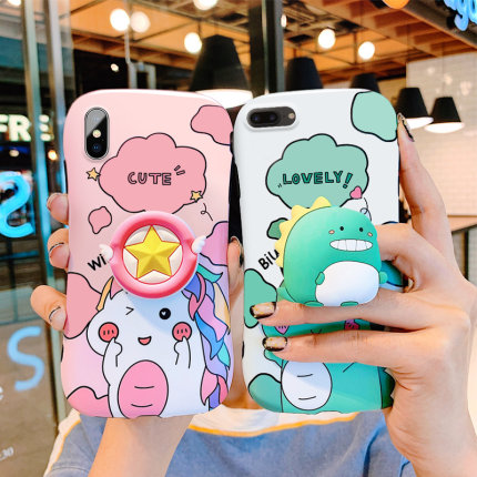 Ốp lưng Iphone - Ốp Silicone Tom and Jerry